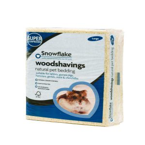 SNOWFLAKE WOODSHAVINGS – LARGE