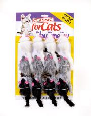 CLASSIC CATNIP FURRY MOUSE 90mm