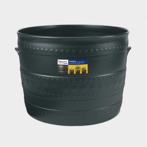 50cm LARGE SMITHY PATIO TUB – GUN METAL