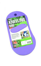 GARDEN KNEELING MAT PURPLE