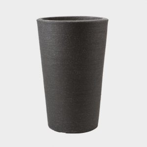35cm VARESE MED PLANTER GRANITE – GRANITE