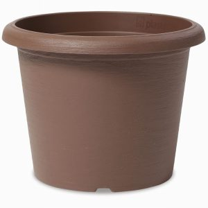 RECYCLED PLASTIC CYLINDER POT 20cm