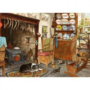 FISHERMAN'S COTTAGE – BIG 500pc JIGSAW PUZZLE