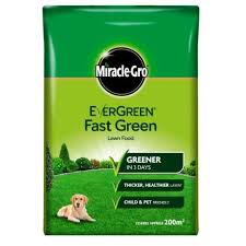 MIRACLE GRO FAST LAWN FEED 200m2