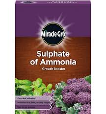 MIRACLE GRO SULPHATE OF AMMONIA 1.5kg