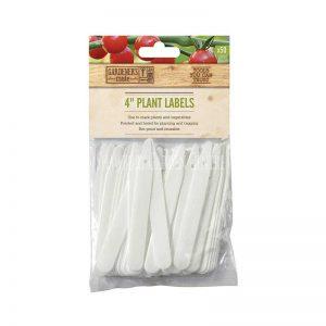 4″ (10cm) PLANT LABELS (50)