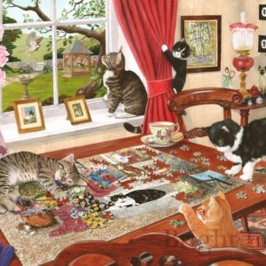 PUZZLING PAWS – 1000pc JIGSAW PUZZLE