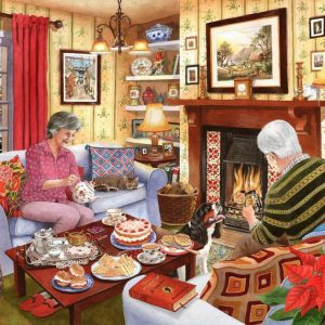 TEA FOR TWO – 1000pc JIGSAW PUZZLE