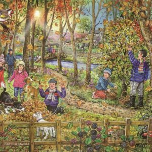 AUTUMN LEAVES – BIG 250pc JIGSAW PUZZLE