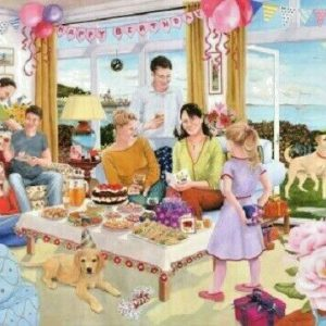 HAPPY BIRTHDAY – 1000pc JIGSAW PUZZLE