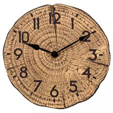 TREE TIME  CLOCK12″