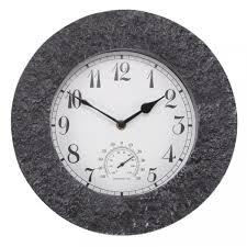STONEGATE GRANITE CLOCK 12″