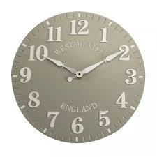 GREYSTONE CLOCK 12″