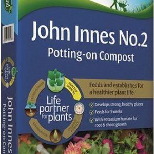 JOHN INNES NO 2 POTTING-ON COMPOST  – 35 LITRE BAG