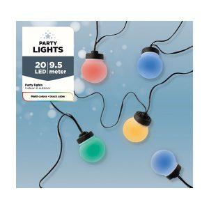 20 LED PARTYLIGHTS OUTDOOR – PLUG IN